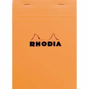 Bloc Rhodia A5 148x210 agrafé  petits carreaux 5x5