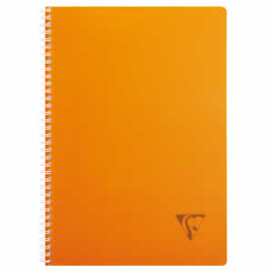 Cahier A4 5x5 Clairefontaine 100 pages ORANGE