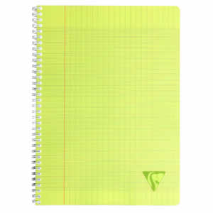 Cahier A4 séyès Clairefontaine 100 pages JAUNE