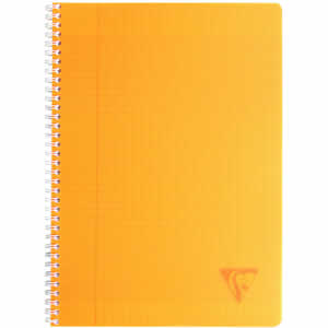 Cahier A4 séyès Clairefontaine 100 pages ORANGE