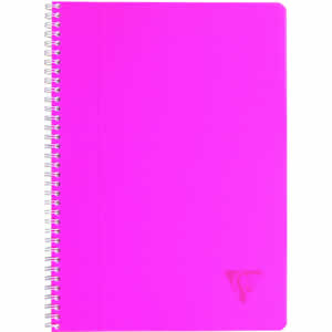 Cahier A4 séyès Clairefontaine 100 pages ROSE