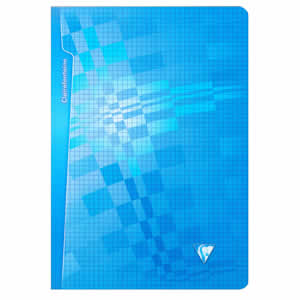 Cahier scolaire A4 bleu Clairefontaine 96 pages