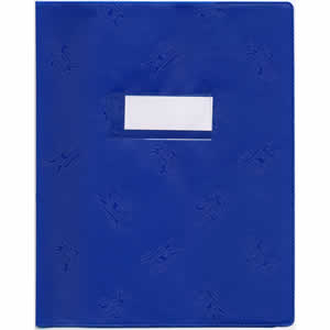 Protège-cahiers  Elba A4+ opaque bleu
