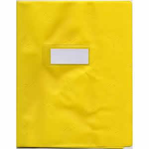 Protège-cahiers  Elba A4+ opaque jaune
