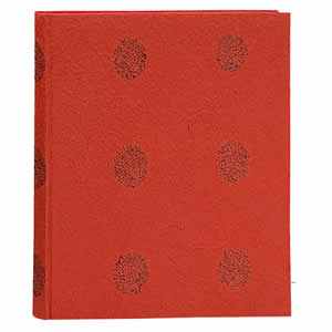 Livre d'or 160 pages rouge 260x210 mm basilico
