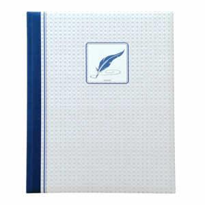 Livre d'or bleu Chambord 80 pages