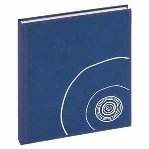 Livre d'or Lazuli bleu 130 pages 20x24cm